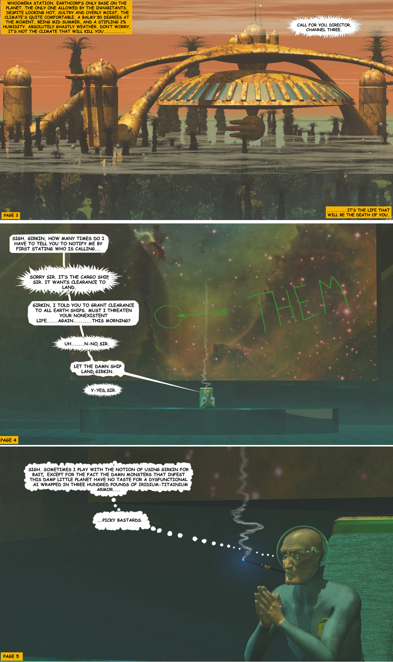 STORM OVER WHOOMERA: PAGE 2
