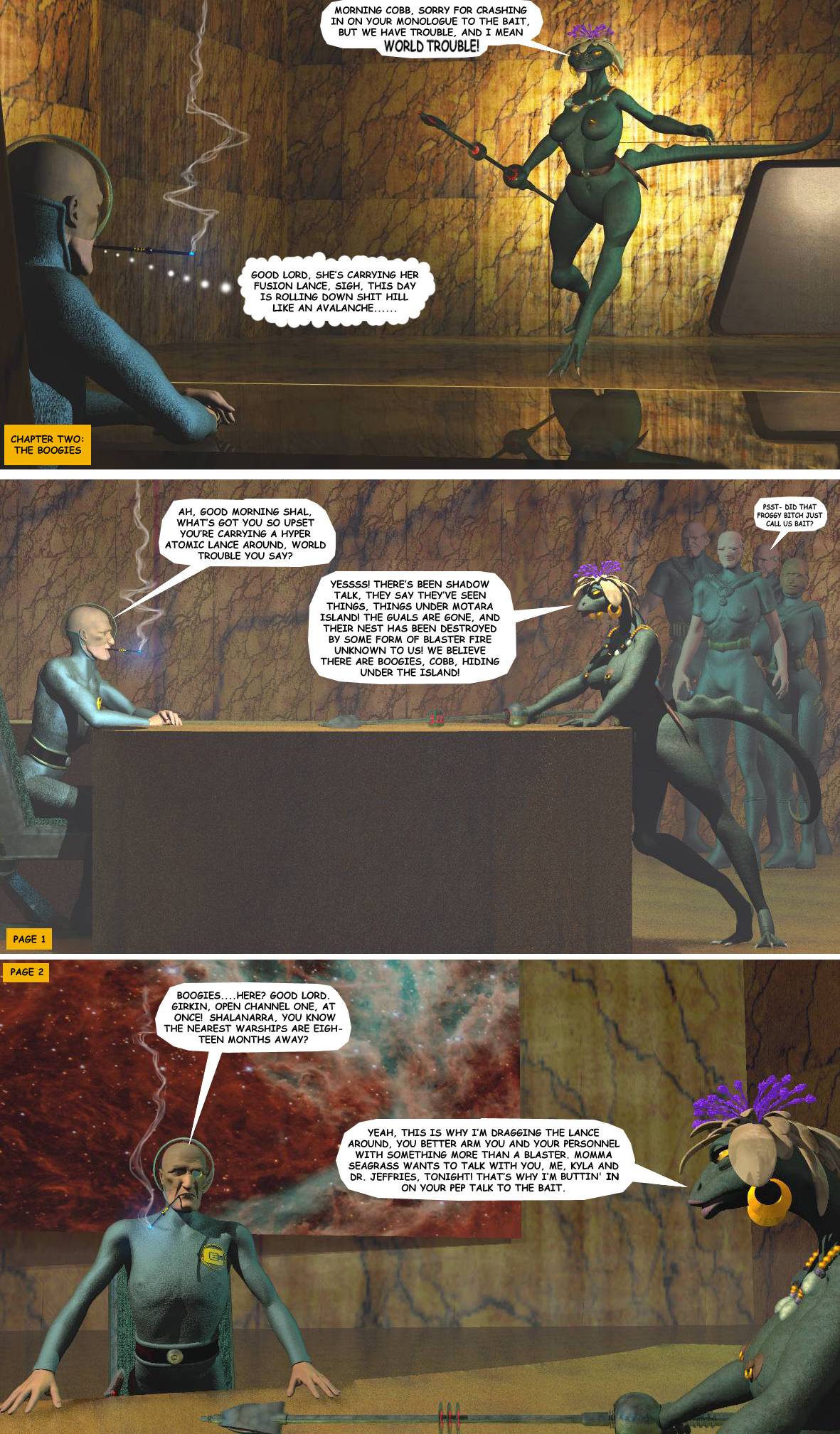 STORM OVER WHOOMERA: PAGE 8