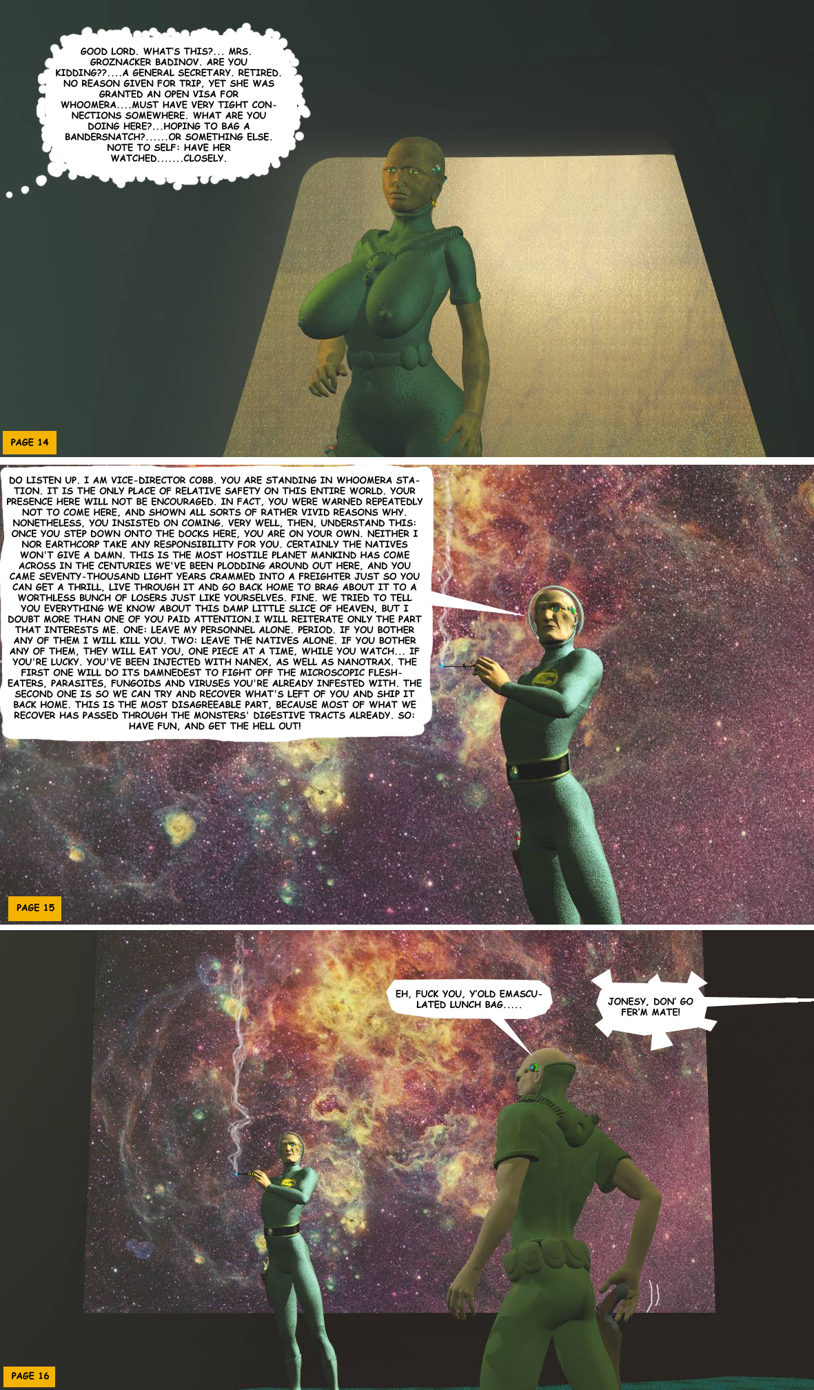 STORM OVER WHOOMERA: PAGE 6