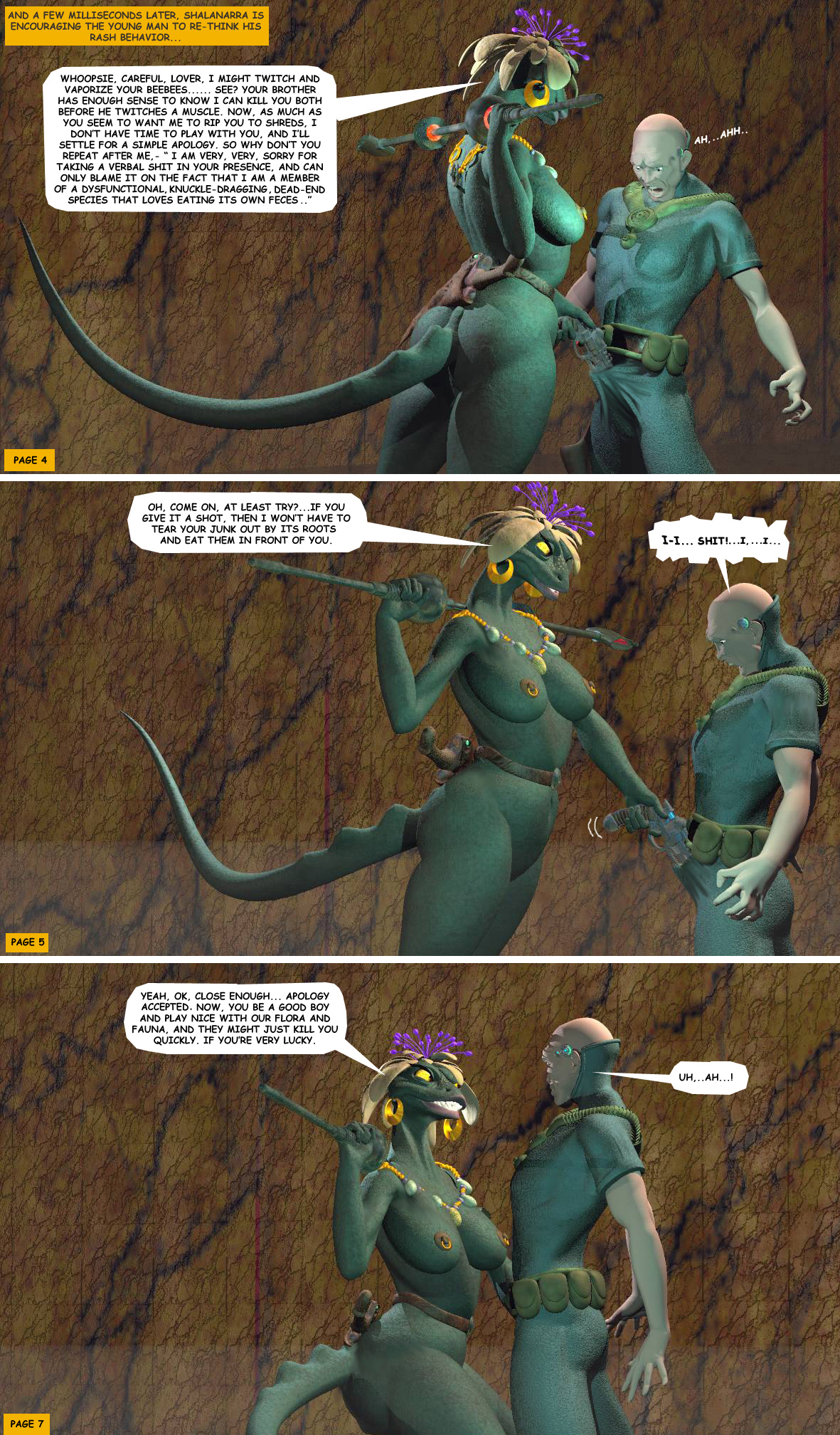 STORM OVER WHOOMERA: PAGE 12