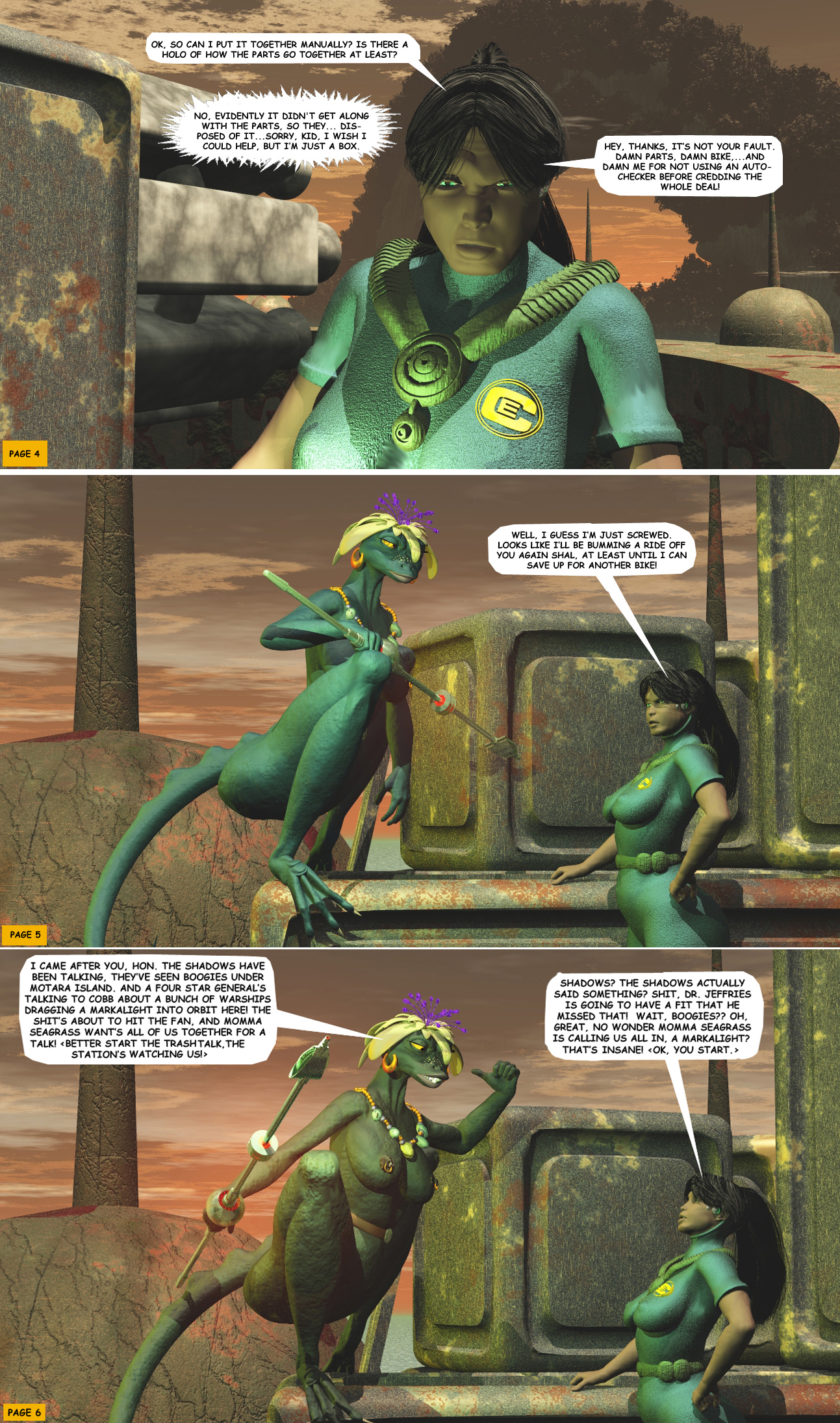 STORM OVER WHOOMERA: PAGE 16