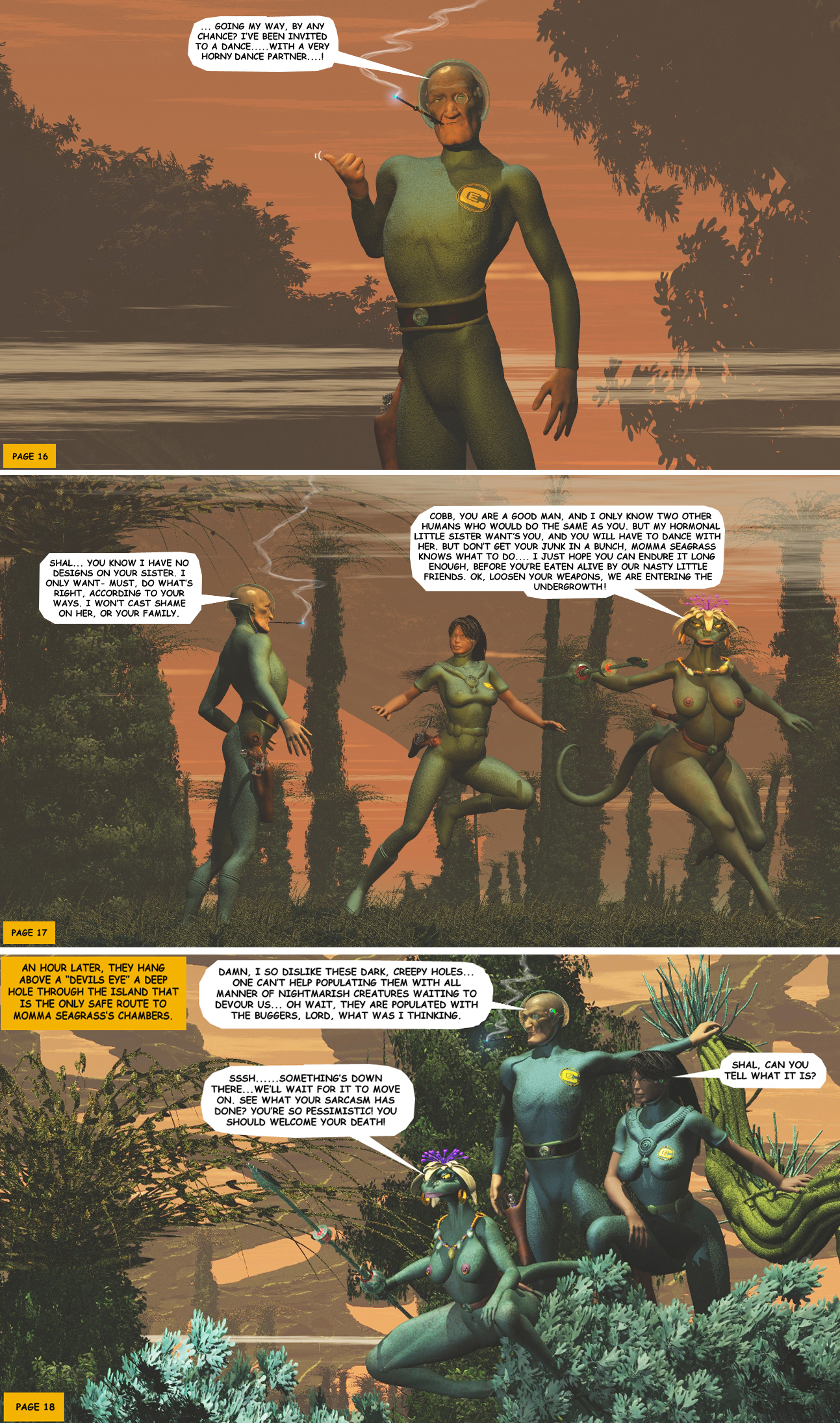STORM OVER WHOOMERA: PAGE 20