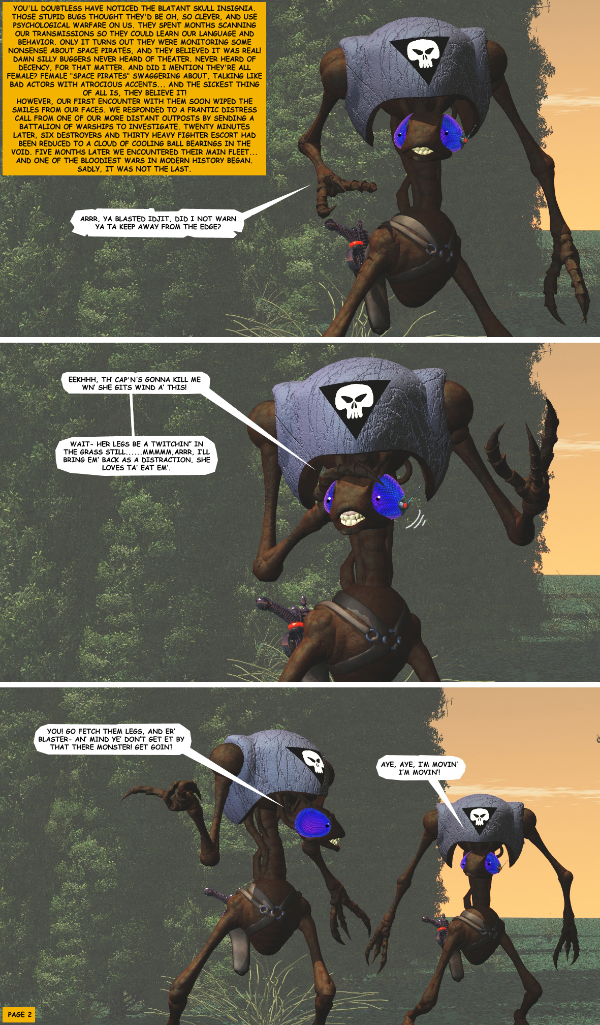 STORM OVER WHOOMERA: PAGE 28