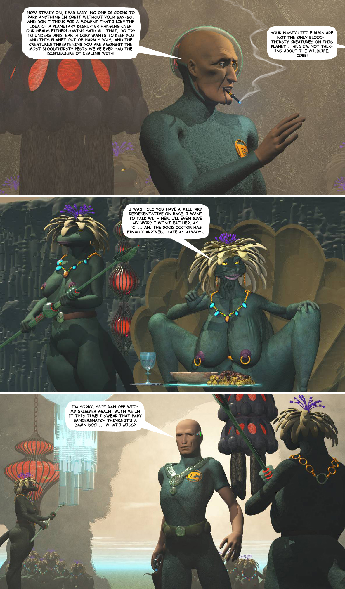 STORM OVER WHOOMERA: PAGE 43