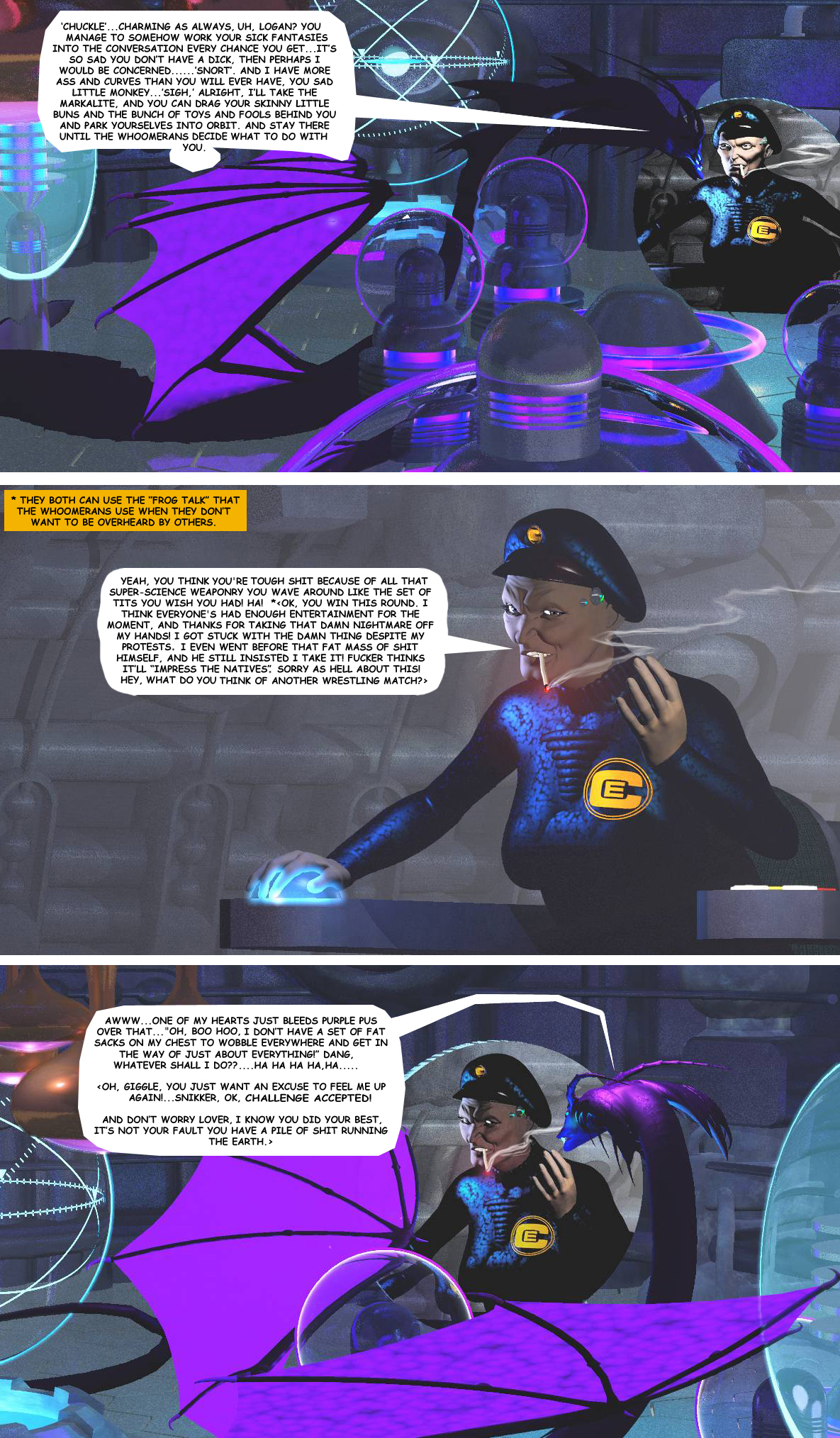 STORM OVER WHOOMERA PAGE 4